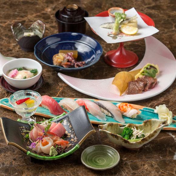 豪華絢爛な鮨ディナー~極 -きわみ- コース