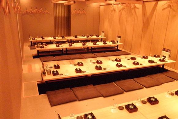 銀座、有楽町、日比谷エリア最大級70名様貸切お座敷個室