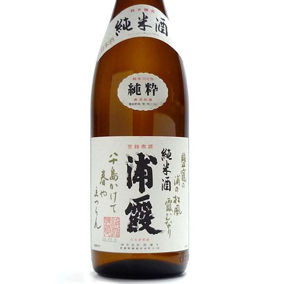 浦霞 純米 グラス 650円 (税抜)