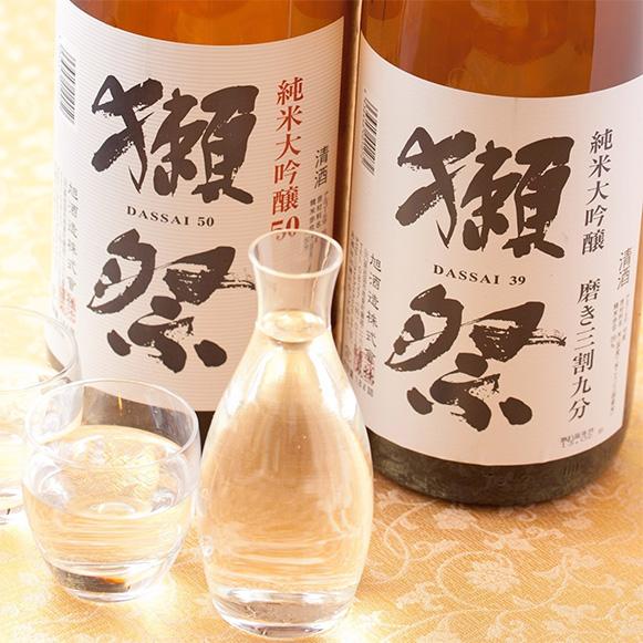 獺祭 磨き50 グラス 830円 (税抜)